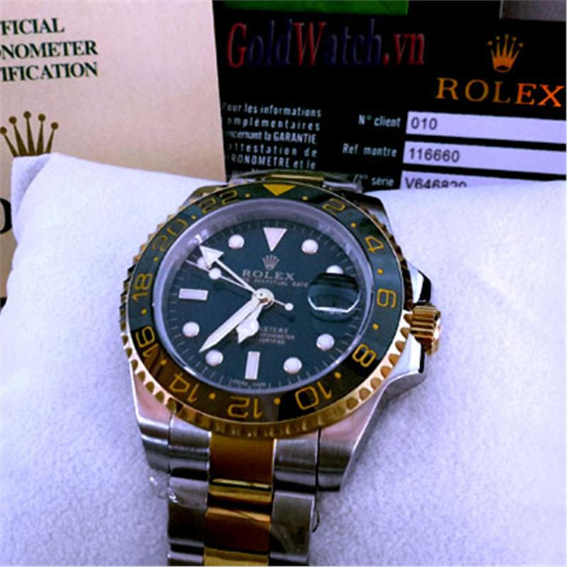 ĐỒNG HỒ ROLEX OYSTER PERPETUAL DATE GMT MASTER II – R.OP116GMT AUTOMATIC