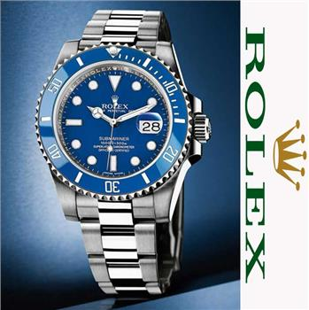 ROLEX SUBMARINER AUTOMATIC R.L1611 BLUE DIAL – CERAMIC